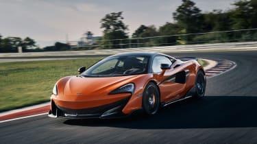 McLaren 600LT first drive - front quarter