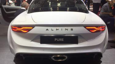 Alpine A110 – rear