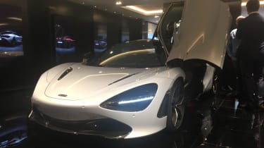 McLaren 720S Geneva front three quarter