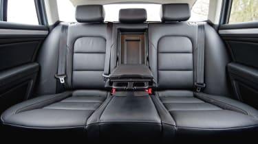 Skoda Superb leather rear seats