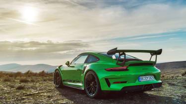 Porsche 911 GT3 RS 991.2 - rear quarter static
