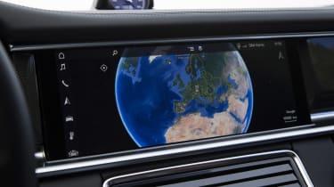Porsche Panamera Turbo - Touch screen