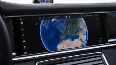 Porsche Panamera Turbo - Touch screen