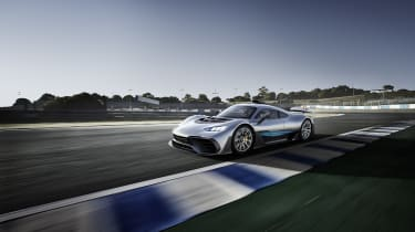 Mercedes-AMG Project 1 - front