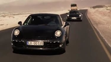 Porsche Panamera hot weather testing