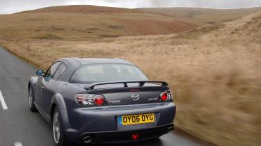 Mazda RX-8 rear end