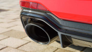 Audi RS4 – exhaust