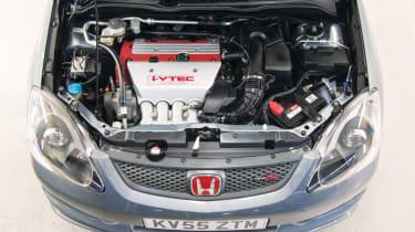 Honda Civic Type R EP3 engine bay