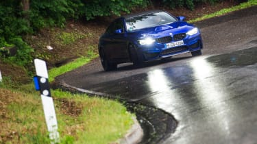 BMW M4 CS - sideways