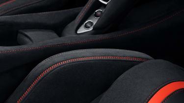 MSO McLaren 720S stealth seats