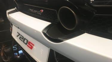 McLaren 720S - Exhaust