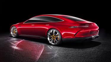 Mercedes-AMG Geneva concept - rear three quarter
