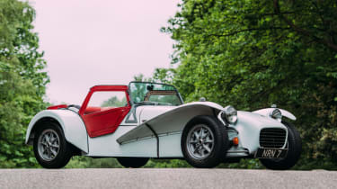 Lotus Seven SS Twin Cam - Front
