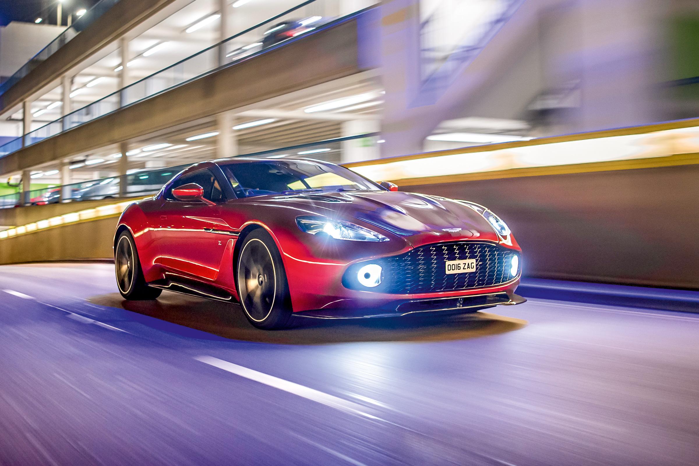 Aston Martin Vanquish Zagato Review Evo