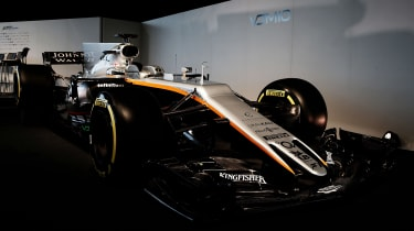 Force India front