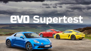 evo Supertest A110 vs rivals - header
