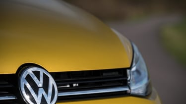 Volkswagen Golf badge