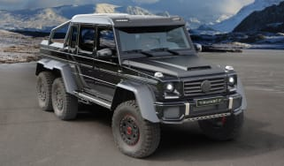 Mercedes G63 6x6 tuned by Mansory
