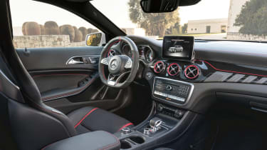 Mercedes-Benz GLA 45 AMG interior