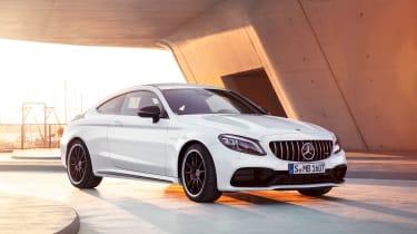 Mercedes-AMG C 63 S Coupe - white front quarter]