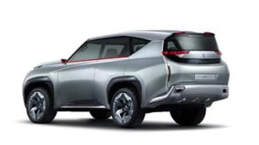 Mitsubishi GC PHEV concept rear