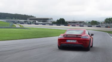 718 Boxster and Cayman GTS - rear track