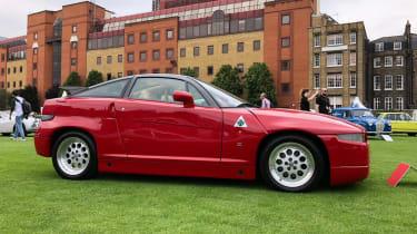 Alfa Romeo SZ - profile