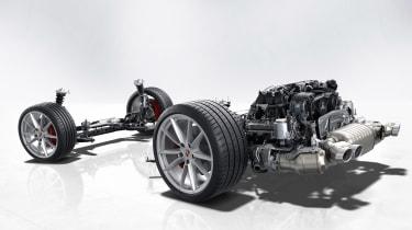 Porsche 911 powertrain