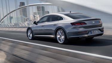 Volkswagen Arteon - rear tracking