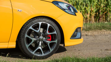 Vauxhall Corsa GSi review - wheels