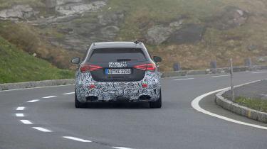 Mercedes-AMG A45 prototype - rear
