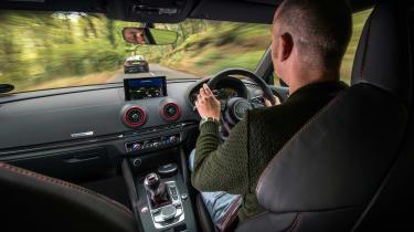 Audi RS 3 vs M2 - interior RS 3