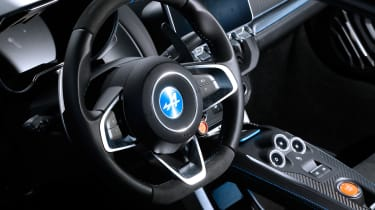 evo Supertest A110 vs rivals - A110 interior