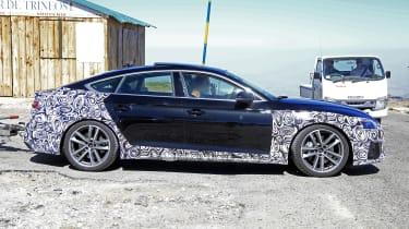 Audi A5 Sportback Audi A5 Sportback spy - sidespy -