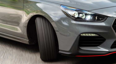 Hyundai i30 N Fastback front detail