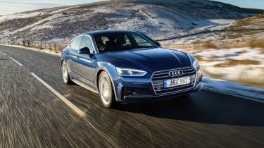 Audi A5 Sportback S-Line - front 3.4