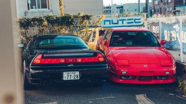 Honda NSX – rear