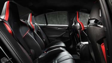 BMW M5 CS - rear cabin