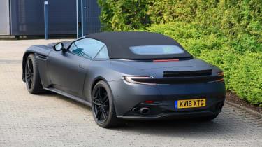 Aston Martin DBS Volante - rear