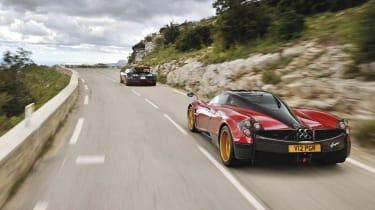 Bugatti Veyron Grand Sport Vitesse vs Pagani Huayra evo Magazine