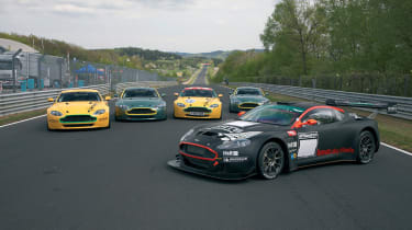 Aston Martin endurance race cars