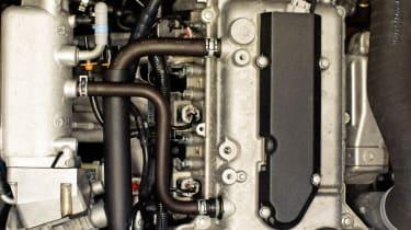 Caterham Seven 160 three cylinder turbo engine