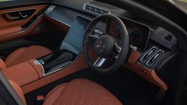Mercedes S-class – cabin