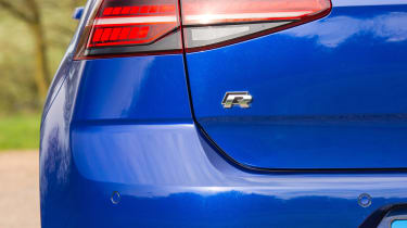 Volkswagen Golf R - taillight