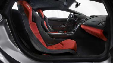 Lamborghini Gallardo LP 570-4 Squadra Corse seats