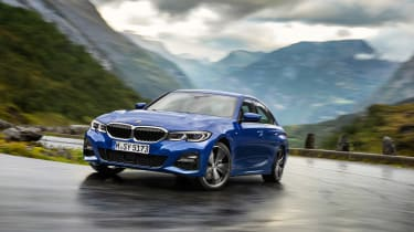 BMW 3-series G20 revealed - M Sport front