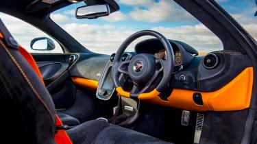 McLaren 570 GT Sportpack – interior