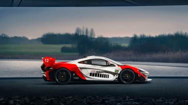 McLaren P1 GTR MSO - profile