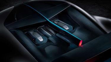 Bugatti Divo - engine bay