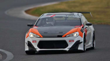 Extreme Toyota GT86 TRD Griffon Project on track